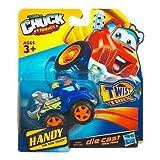 Tonka CHUCK & Friends Twist Trax Diecast HANDY [Blue TOW Truck]