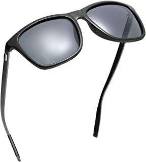 BASKNOBL Polarized Sunglasses Vintage Aluminum Frame...