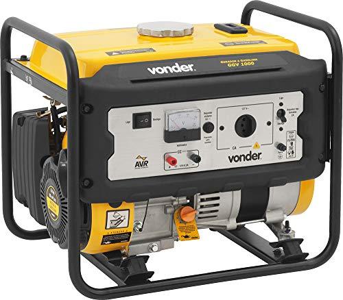 Gerador A Gasolina 1.000 W Ggv 1000 110 V~, Vonder Vdo3035 Vonder 110 V