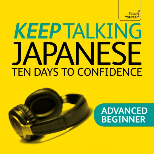 Keep Talking Japanese audiobook cover art