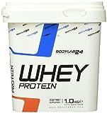 Bodylab24 Whey Protein 1kg   Eiweißpulver, Protein-Shake für Kraftsport & Fitness   Kann den Muskelaufbau unterstützen   Protein-Pulver mit 80% Eiweiß   Aspartamfrei   Vanille
