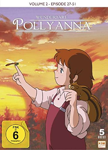 Wunderbare Pollyanna - Vol. 2 (Episode 26-51) (5 DVDs)