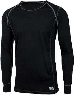 100% Merino Wool Men's Long Sleeve Sweater. Machine Washable. Made in Norway