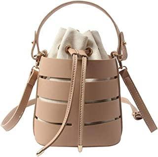 Wultia - 2019 Bags for Women Women's Fashion Hollow Shoulder Bag Multi-Function Bag Multi-Layer Handbag Messenger Bags Hot Bolsa Feminina Khaki