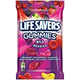 Life Savers Wild Berries Gummies Candy Bag, 7 Ounce