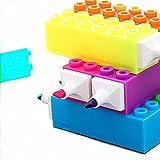 Marcatori permanenti d'arte Prodotti for bambini Puzzle Quadrato pennarello grande capacità colori penna di indicatore di Building Blocks Highlighter 6 creativo Per Disegno Coloring evidenziazione