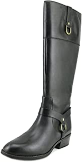 Lauren by Ralph Lauren Mesa Round Toe Leather Knee High Boot