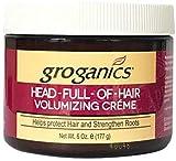 Groganic Dht Head Full of Hair Treatment 6 oz. (Pack of 2)