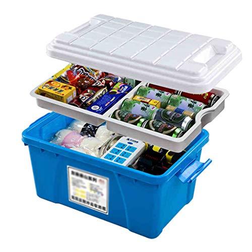 Auto et Moto/Accessoires auto/Arrimage et rang Boîte de rangement voiture boîte de rangement grande voiture gestionnaire de démarrage boîte à outils étanche boîte à outils en métal voiture multi-f