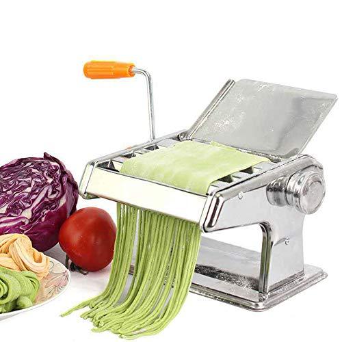 KangHan Noodle machine, 6 snelheden voor dikte aanpassing, verse spaghetti macaroni, lasagne deeg cutter