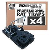 Best Rat Traps - Roshield 4 x Rat Traps - Professional Heavy Review