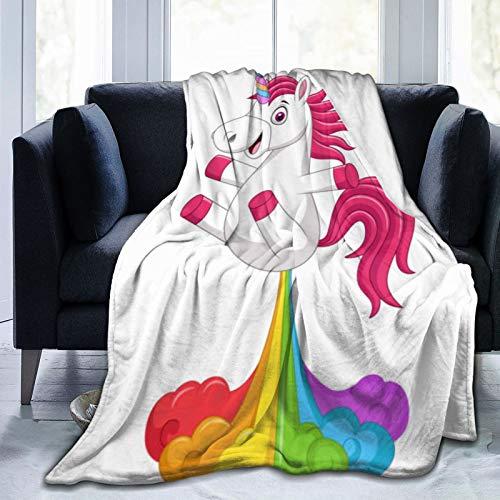 Manta con peso para el sueño y el alivio del estrés, divertida manta de ansiedad de caballo para un gran sueño, material súper suave
