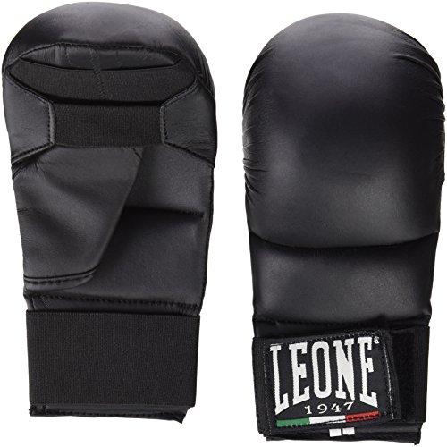 Leone 1947 GK094 Guanti Karate/Fit, Nero, L