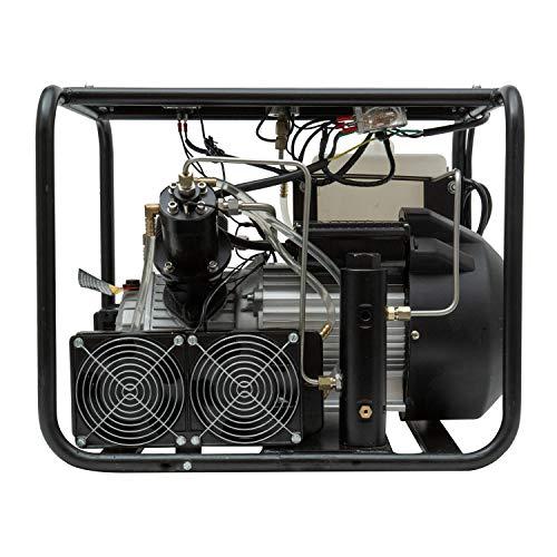 HPDAVV High Pressure Air Compressor - 3HP - 110v / 60Hz / 1ph - 2.5cfm @ 4500 Psi - PCP Rife/Paintball Air Gun Filling Station Adjustable Digital Gauge Control