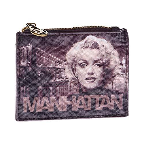 Karactermania Marilyn Monroe Manhattan - Monedero Cuadrado,...