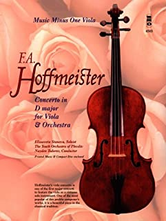 Concerto in D Major for Viola & Orchestra (Music Minus One (Numbered))