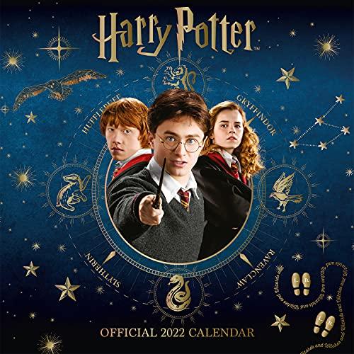 Official Harry Potter 2022 Calendar - Month To View Square Wall Calendar: Original Danilo-Kalender [Mehrsprachig] [Kalender] (The Official Harry Potter Square Calendar 2022)