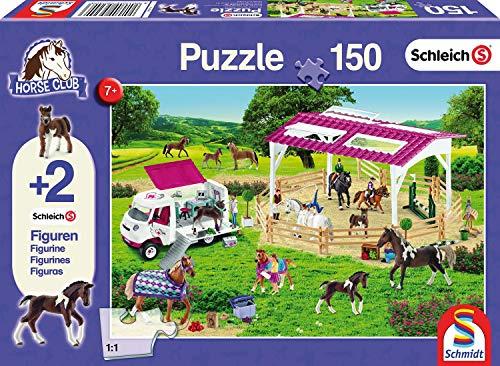 Schmidt Spiele 56240 Kinderpuzzle Schleich R, lila