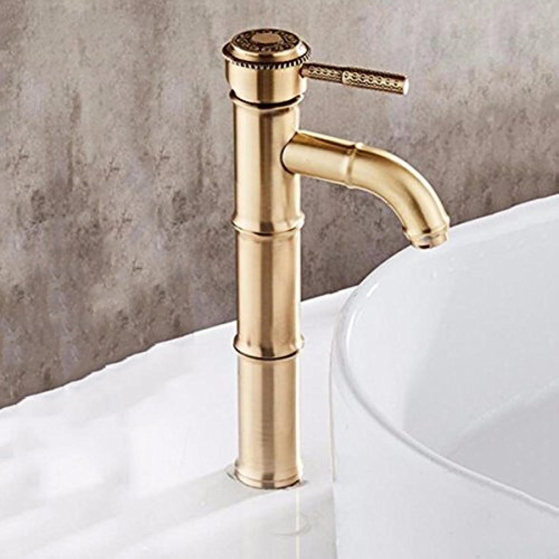 NewBorn Faucet Küche oder Badezimmer Waschbecken Mischbatterie Eine Geschnitzte Hhne Nase voll Kupfer heien und Kalten Periode Ein
