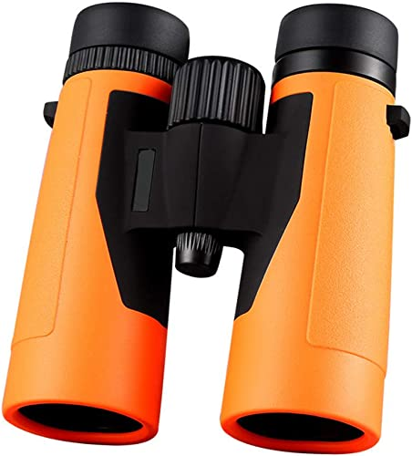 Jumelles Télescope Compact Télescope étanche à La Brume étanche Professionnel Observation Des Oiseaux Jumelles Pour Extérieur Sightseeing Voyager Chasse Gaming ( Couleur   Orange , Taille   10x42 )