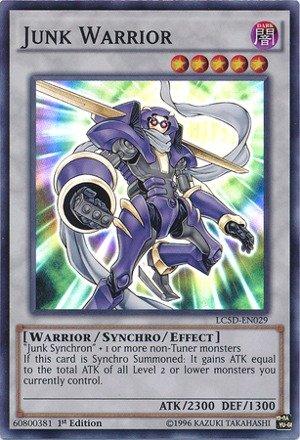 YU-GI-OH! - Junk Warrior (LC5D-EN029) - Legendary Collection 5D's Mega Pack - 1st Edition - Super Rare