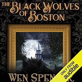 The Black Wolves of Boston audiobook cover art
