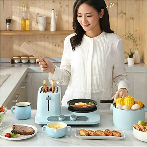 WZYJ 3 en 1 Multi-función de Desayuno Máquina hogar tostadora eléctrica tostadora de Pan con Huevo de envío Libres de la hornada de calefacción hervida