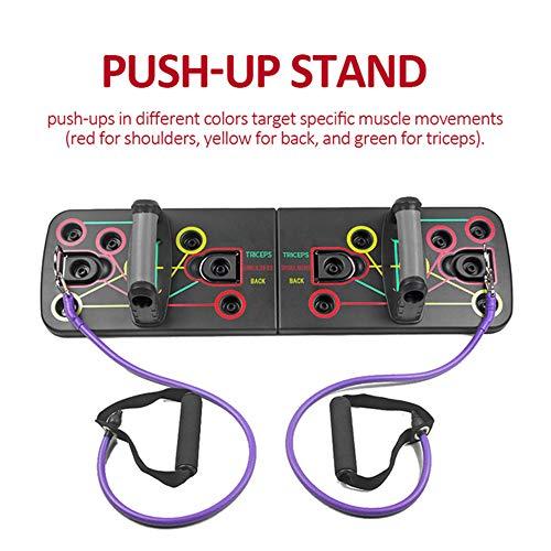 TZK Push-Up – Estructura unisex con pull Rope push-up tabla Gym Home Fitness Herramientas de ejercicio deporte Bodybuilding dispositivos de entrenamiento de pie
