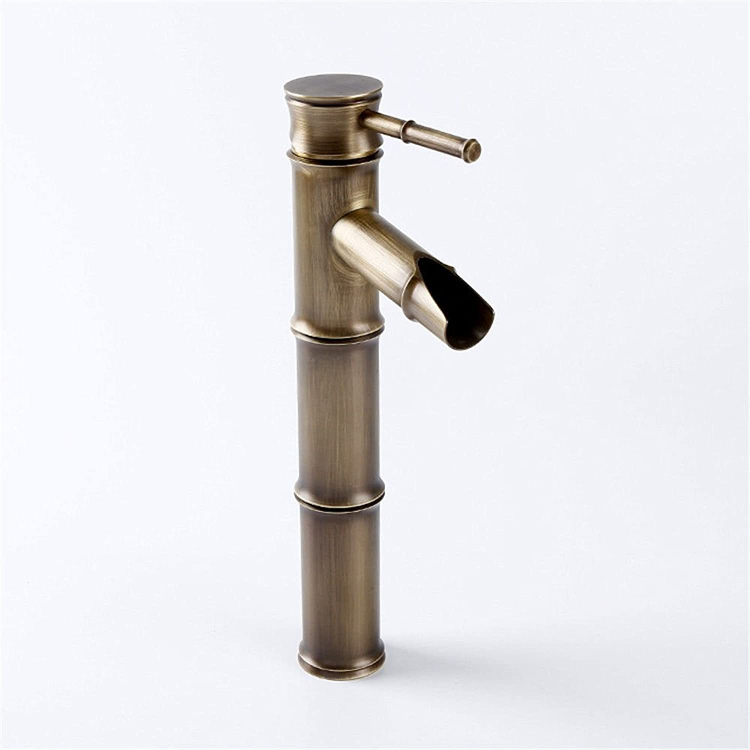 ETERNAL QUALITY Bathroom Sink Basin Tap Brass Mixer Tap Washroom Mixer Faucet Double-tap water-taps for the basin of hot and cold washing basin faucet single on-the-water