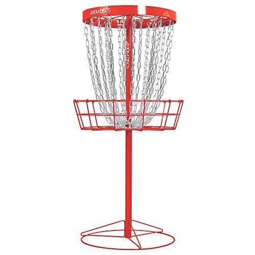 Axiom Discs Pro 24-Chain Disc Golf Basket - Red