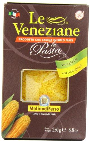 Le Veneziane - Italian Anellini Pastina [Gluten-Free], (4)- 8.8 oz. Pkgs