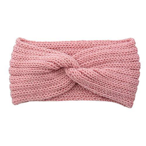 Dames Hoofdbanden Haarbanden Warm Hoofdband Kruis Breien Hoofdbanden Effen Weven Eenvoudige Mode Meisjes Haarbanden Winddicht Hoofd Band