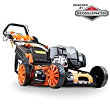 'P1PE P5100SPBS 173cc Self Propelled 4-stroke Petrol Lawnmower 51cm cutting width'