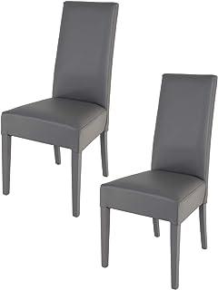 Tommychairs - Set 2 sillas Luisa para Cocina, Comedor, Bar y Restaurante, solida Estructura en Mader