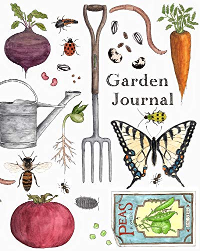 Garden Journal: A Kid's Gardening Journal