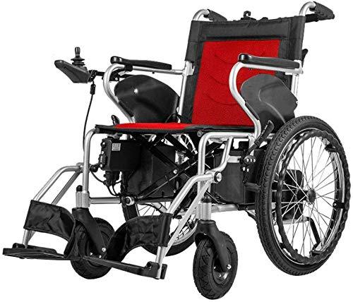 DBXOKK-Rollstuhl Motion Healthcare lite Trekker Powerchairs - Elektromotorischer Rollstuhl für Erwachsene Zwei Hochgeschwindigkeitsmotoren, Reda, Dual Control