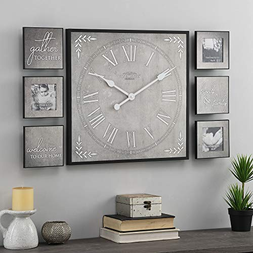 FirsTime & Co. White Farmhouse Frame Gallery Set, Gray, 20 inches (31213)