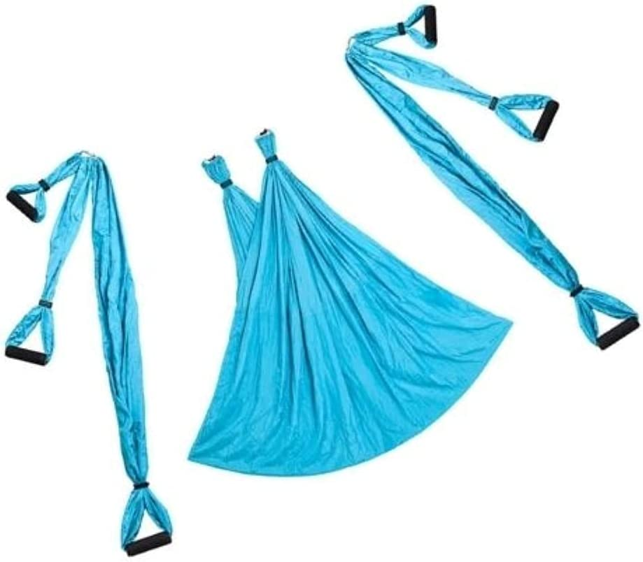 Ministry of Sale price Warehouse Blue Yoga Trapeze Hammock Save money Flying Sli Swing