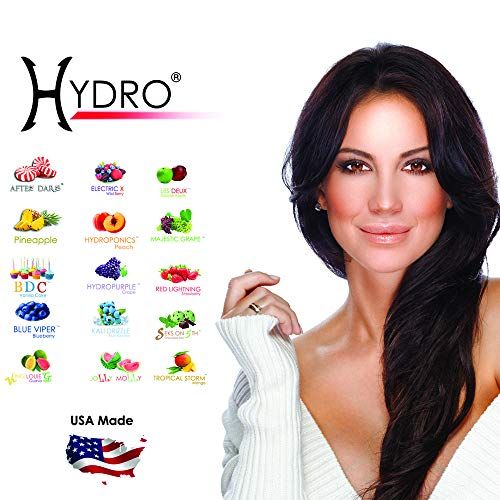 Hydro Herbal Hookah Shisha - [50g X 10 PACK] [500g] - Fruit Lovers Mix - [Premium Flavor - Tobacco, Nicotine Free] Party Mix X2