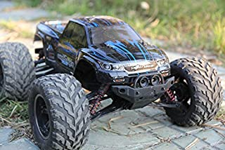 FMTStore 1/12 IPX4 Scale Electric RC Car Offroad 2.4Ghz 2WD High Speed 33+MPH Remote Controlled Car Truck (Color: Blue)