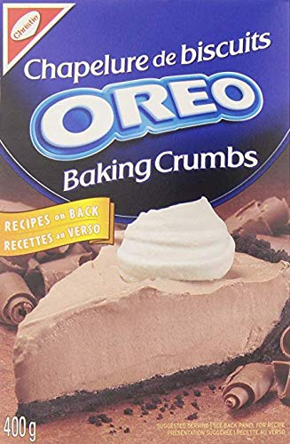 Oreo Baking Crumbs 400g/14.10oz., (12pk) {Imported from Canada}