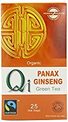 Energizing Panax Ginseng Root boosted with warming spices of the east Panax Ginseng is one of the Emperor Herbs Panax Ginseng root can help to revitalize Panax Ginseng plus hibiscus, cinnamon bark, cloves enhance this revitalising beverage
