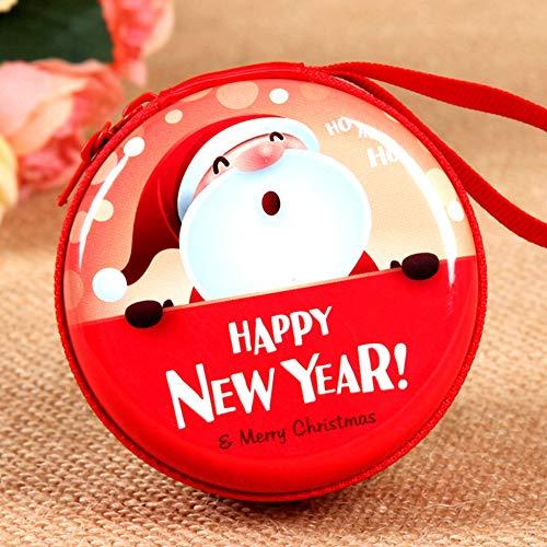 EisEyen Auriculares Organizador Joyeros apilable para joyería. para Guardar y Estante Pendientes Cadenas Relojes Pulseras y Accesorios decoración de Navidad Navidad Caja de Regalo