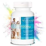 Coenzima Q10 100mg – Vegana - Altamente dosificada – 180 cápsulas de Q10 – para 6 meses