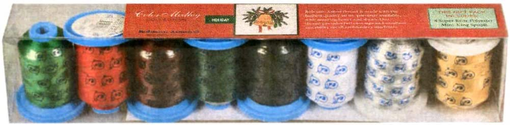 Bombing new Weekly update work Robison-Anton Holiday Polyester Thread Set