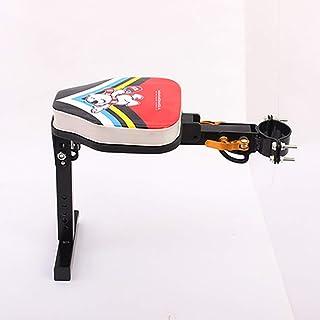 KIRA Asiento para La Bicicleta Delantero Asiento De Bebé para Bicicleta Asientos Grueso Reposabrazos Abatibles Desmontaje Rápido Ajustable Adecuado para Vehículos Eléctricos De Pedales