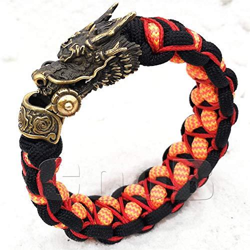 CooB EDC Paracord Survival Outdoor Bracelet with...