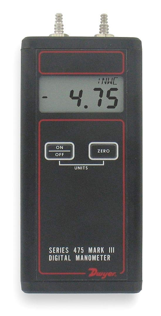 Handheld gift Manometer 0 to WC store In 200.0