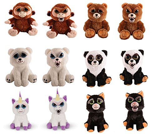 Mac Due Italy- Peluche Feisty Pets Assortiti, 280481