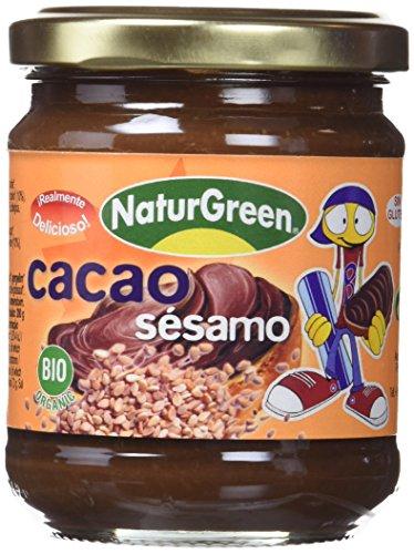 NATURGREEN CREMA SESAMO CACAO 200 gr
